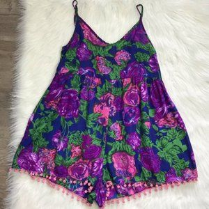 Urban Outfitters floral print romper size small